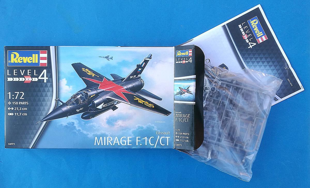 REvell-04971-Mirage-F1C-CT-26 Mirage F.1C / CT in 1:72 von Revell #04971