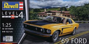 69 Ford Mustang Boss in 1:25 von Revell #07025