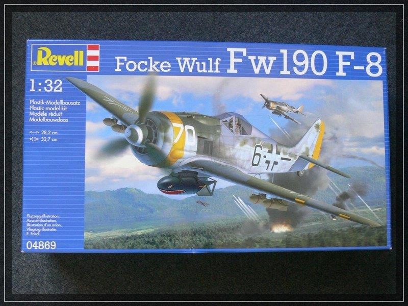 Revell-FW-190-F-8-16 FW 190 F-8 von Revell (1:32)