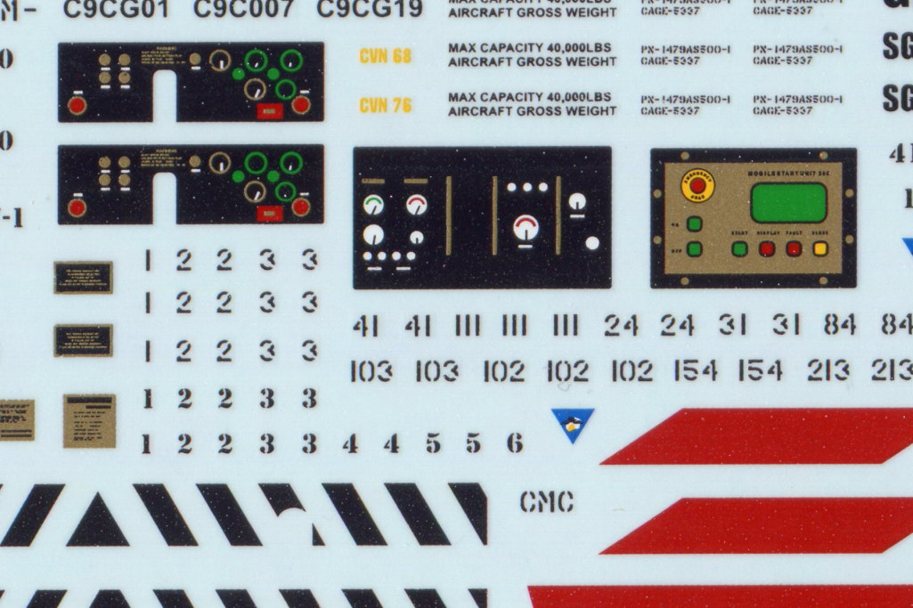 Review_Fightertown_CSN_Deck_06 Decalset USN Deck Crew / Vehicles - Fightertown Decals 1/48