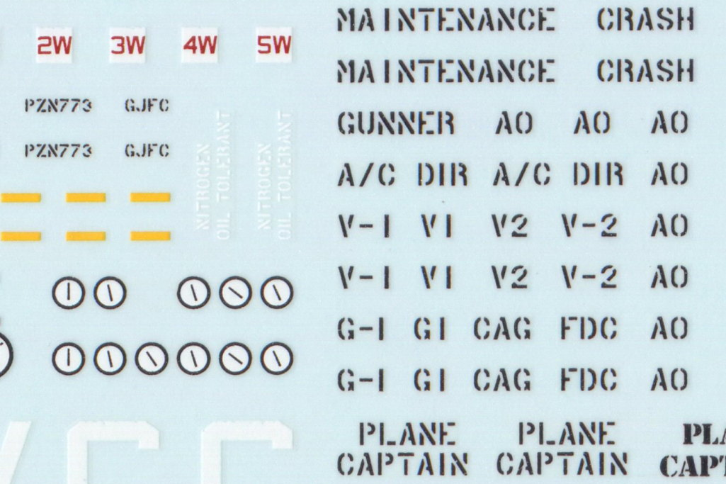 Review_Fightertown_CSN_Deck_07 Decalset USN Deck Crew / Vehicles - Fightertown Decals 1/48