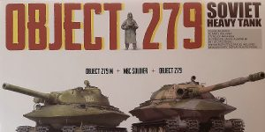 Object 279 und 279M in 1:72 von Takom # 5005