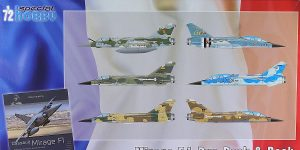 Mirage F.1C Duo Pack in 1:72 von Special Hobby #SH 72414