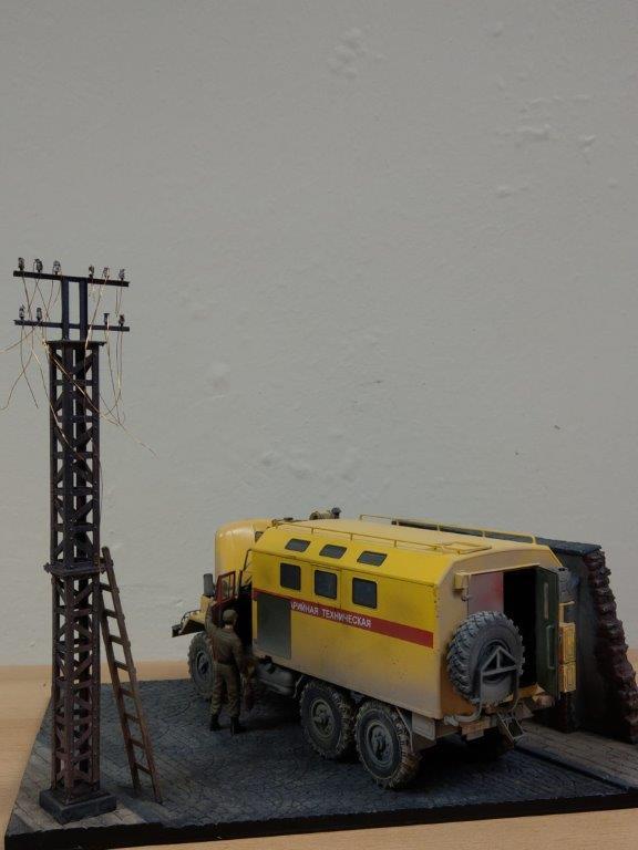 06_ICM-35518-gebaut-6 Werkstattbericht: ZIL 131 Emergency Truck in 1:35 von ICM