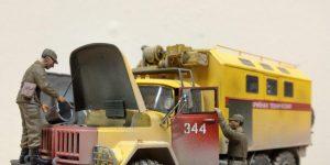 Werkstattbericht: ZIL 131 Emergency Truck in 1:35 von ICM