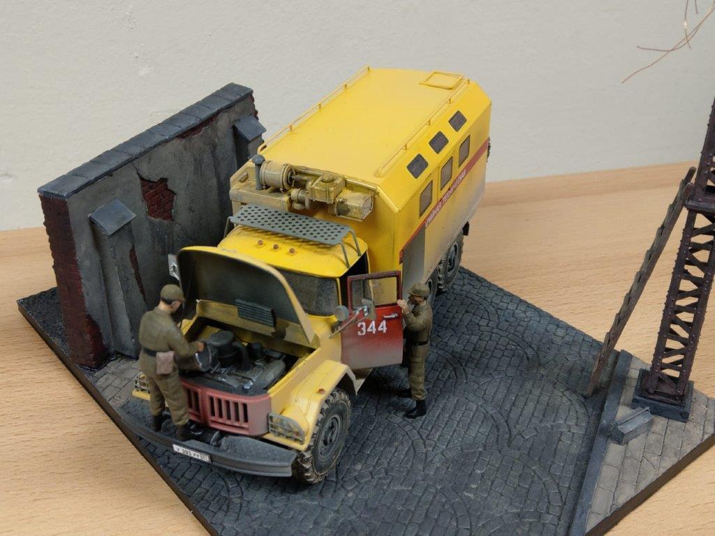 11_ICM-35518-gebaut-11 Werkstattbericht: ZIL 131 Emergency Truck in 1:35 von ICM