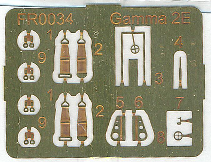 AZUR-Frrom-FR-0034-Gamma-2E-Bomber-15 Gamma 2E Bomber in 1:72 von AZUR / Frrom # FR 0034