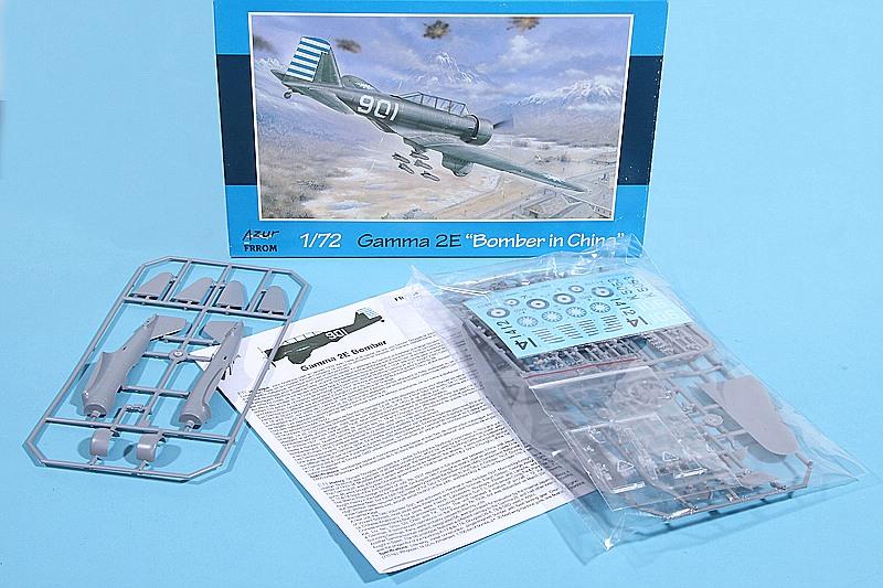 AZUR-Frrom-FR-0034-Gamma-2E-Bomber-19 Gamma 2E Bomber in 1:72 von AZUR / Frrom # FR 0034
