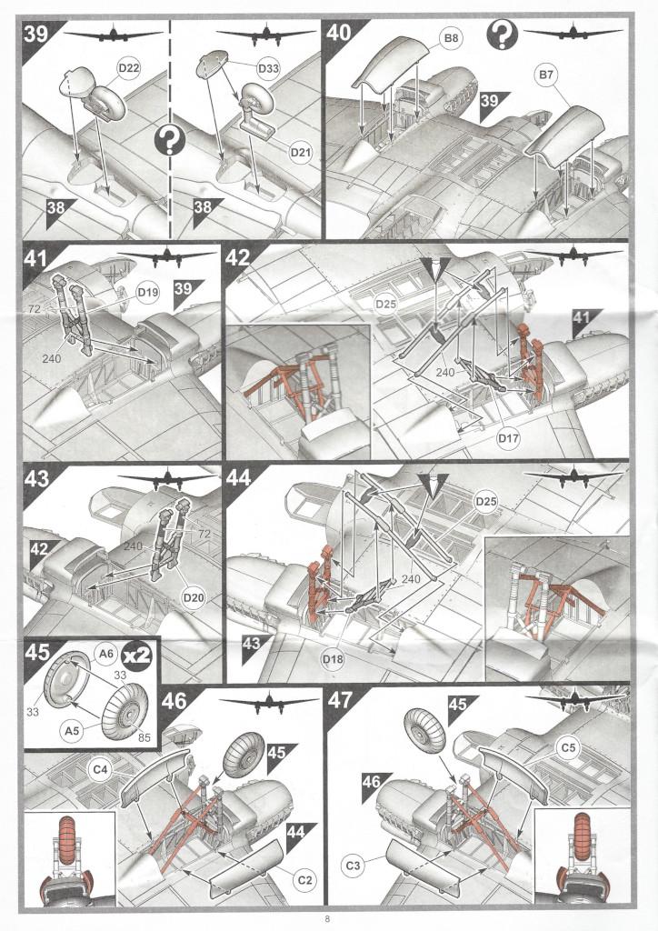 """Anleitung08-1 Heinkel He111 H-6 Motörhead """"Bomber"""" Special 1:72 Airfix (#A07007B)"""