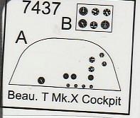 CMK-7437-Beaufighter-Cockpit-15 CMK Zurüstteile für die Beaufighter von Airfix in 1:72
