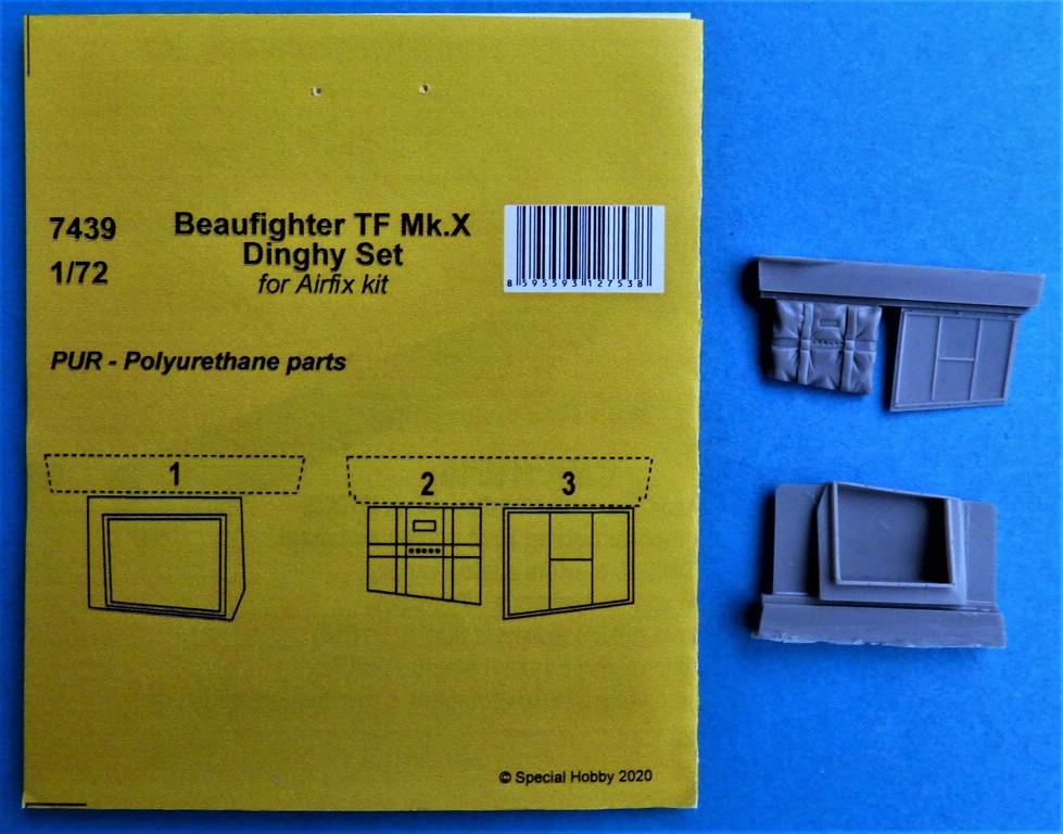CMK-7439-Beaufighter-Dinghy-2 CMK Zurüstteile für die Beaufighter von Airfix in 1:72