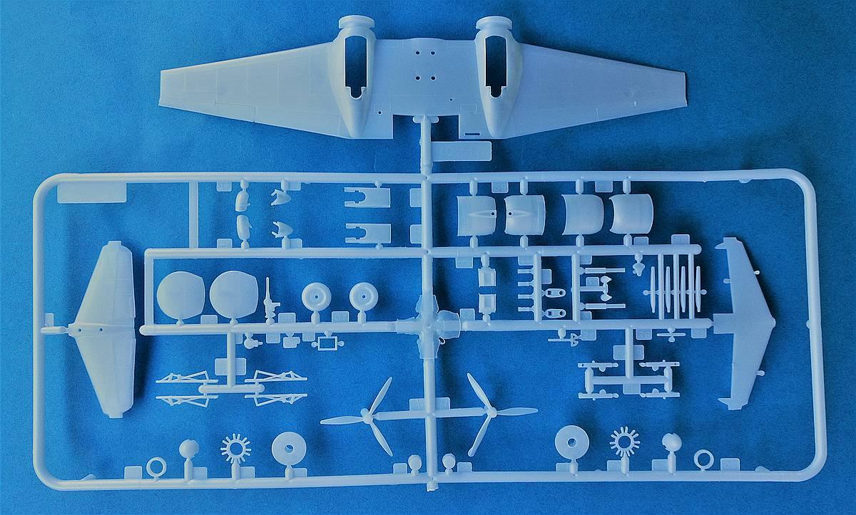 Heller-80313-Potez-63-11-11 Kit-Archäologie: Potez 63-11 in 1:72 von Heller # 80313