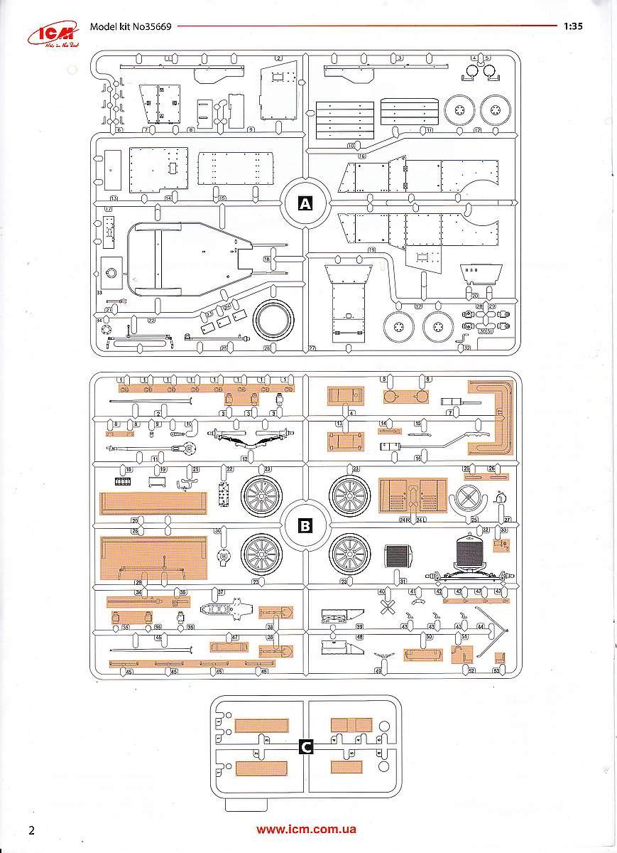 ICM-35669-Model-T-RNAS-Armoured-Car-28 Ford Model T RNAS Armoured Car in 1:35 von ICM # 35669