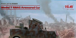 Ford Model T RNAS Armoured Car in 1:35 von ICM # 35669