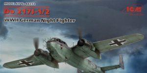 Dornier Do 217 J-1/J-2 Nachtjäger von ICM in 1:48 #48272