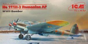 Heinkel He 111 H-3 Romanian AF in 1:48 von ICM #48266