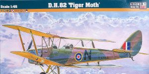 DH 82 Tiger Moth in 1:48 von MisterCraft  # E-42