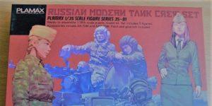 Plamax Figure Series 35-01 Russian Modern Tank Crew Set