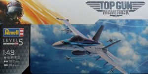 Maverick's F/A 18E Super Hornet TopGun 2 von Revell in 1:48 #03864