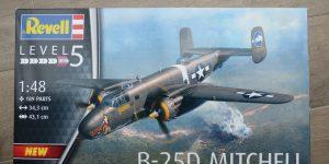 B-25D Mitchell im Maßstab 1:48 von Revell #04977