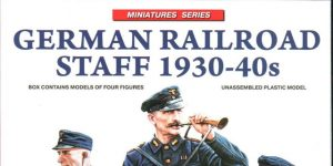 German Railroad Staff 1930-40s – MiniArt 1/35 #38012