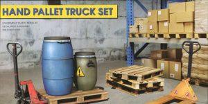 Hand Pallet Truck Set – MiniArt 1/35