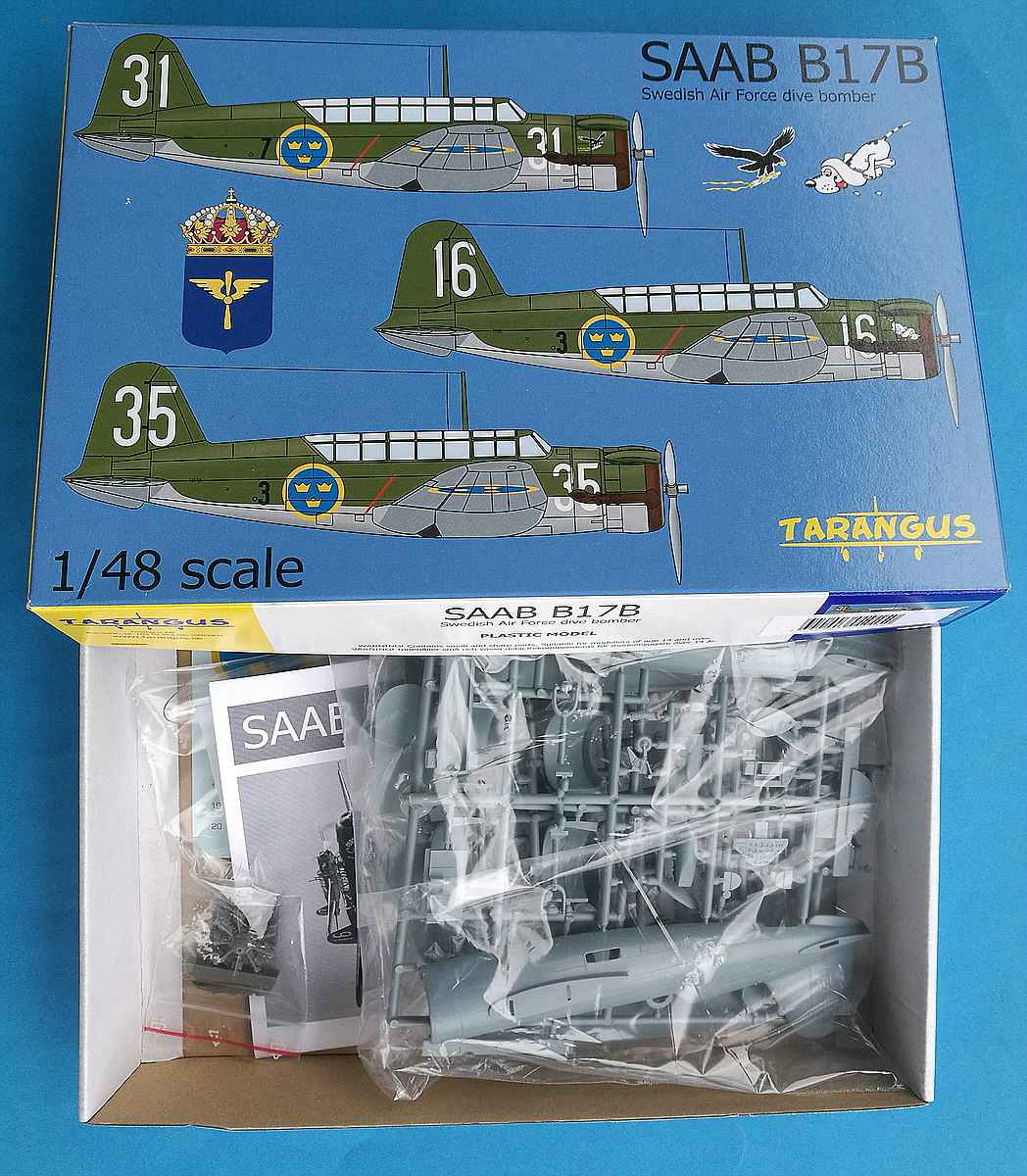Tarangus-TA-4810-SAAB-B-17B-1 SAAB B-17B in 1:48 von Tarangus #TA 4810
