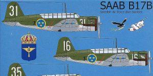 SAAB B-17B in 1:48 von Tarangus #TA 4810