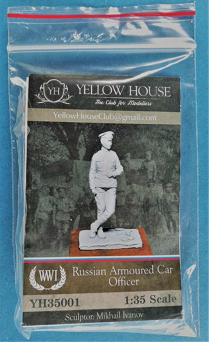 Yellow-House-35001-Russian-Armoured-Car-Officer-2 Russian Armoured Car Officer in 1:35 von Yellow House