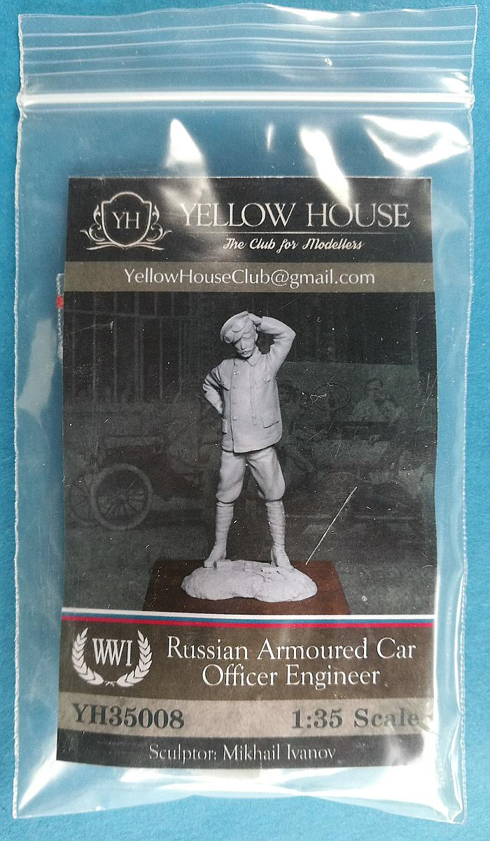 Yellow-House-YH-35008-Russian-Armoured-Car-Officer-Engineer-1 Russian Armoured Car Officer in 1:35 von Yellow House