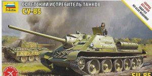 SU-85 in 1:72 von Zvezda #5062