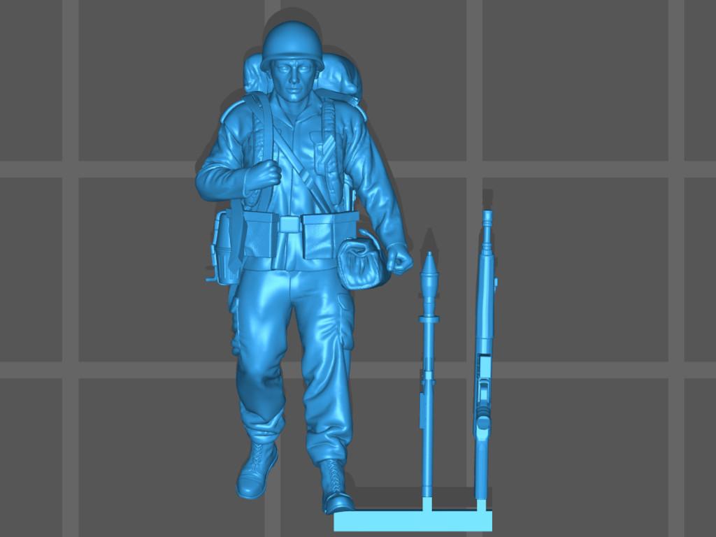 inf5 Bundeswehr - Marschkolonne 02 Germania Figuren (#STL CW 1004)
