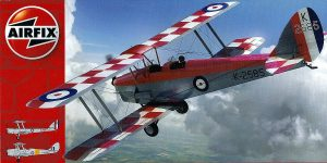 DeHavilland DH 82 Tiger Moth in 1:48 von Airfix # A04104