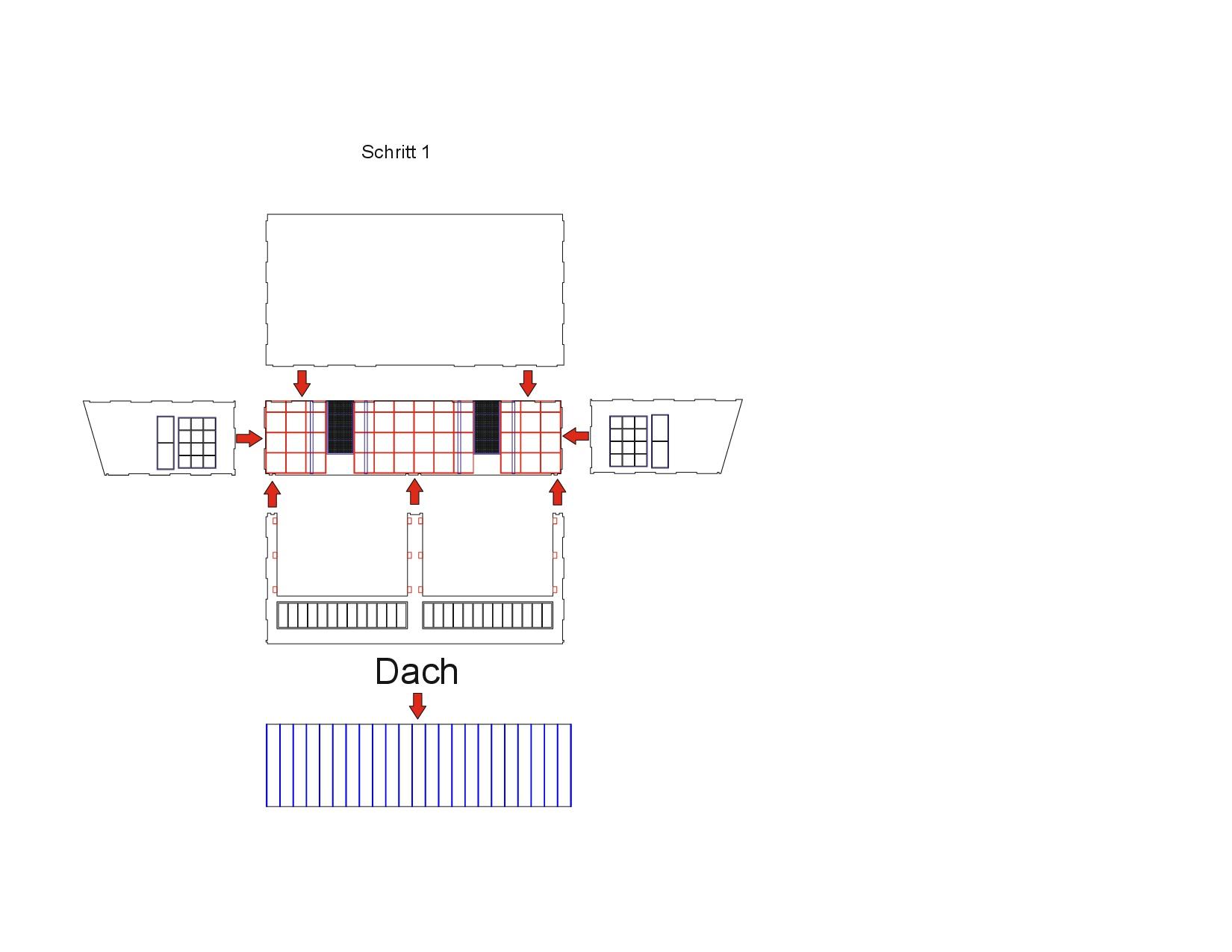 Bauanleitung-Bundeswehrhalle-1-35-001 Bundeswehrhalle 1:35 Lasercut Modellbaushop (#LCS-057-1-35)