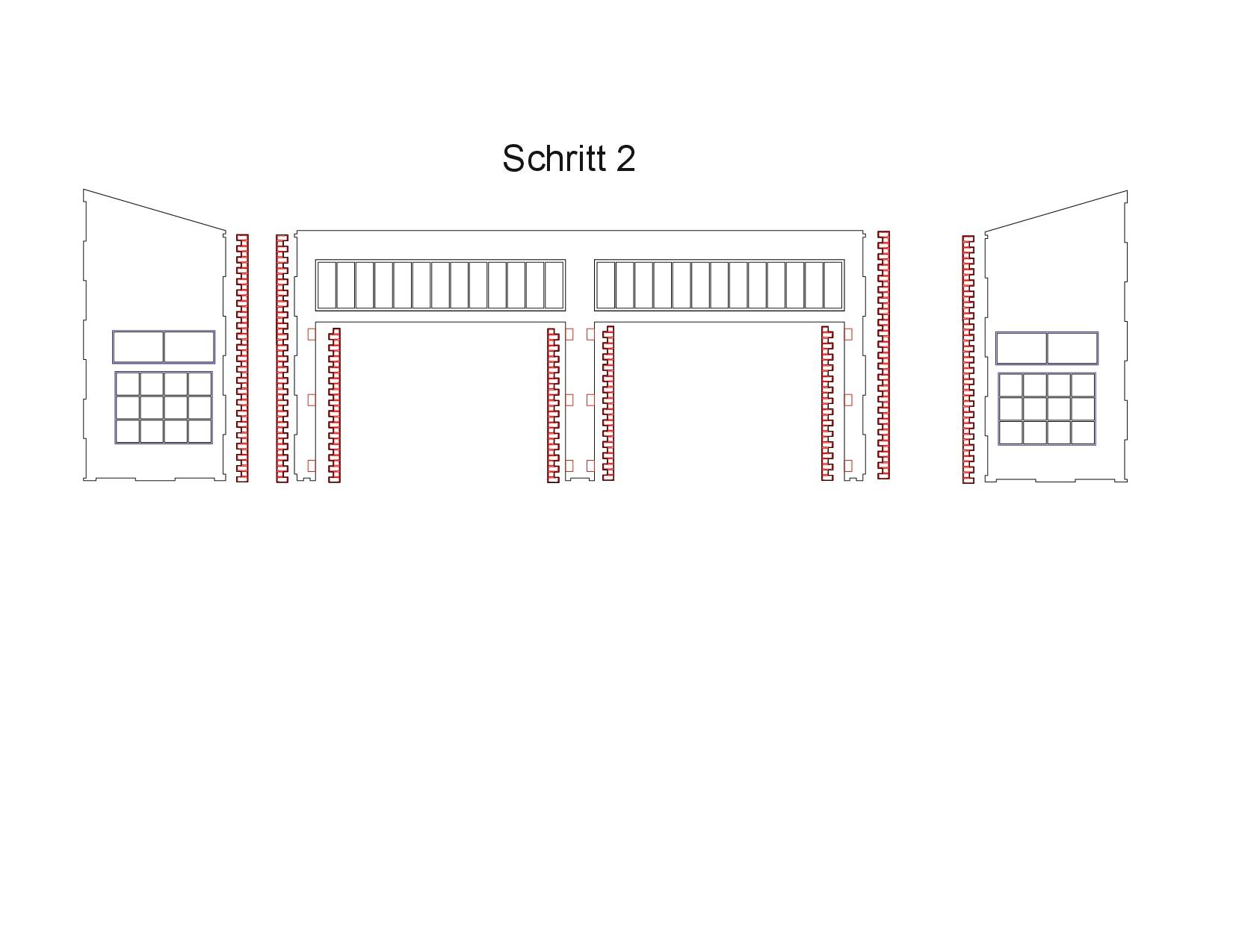Bauanleitung-Bundeswehrhalle-1-35-002 Bundeswehrhalle 1:35 Lasercut Modellbaushop (#LCS-057-1-35)