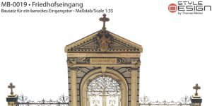Friedhofseingang 1:35 (#MB-0019) Style Design by Thomas Bäcker