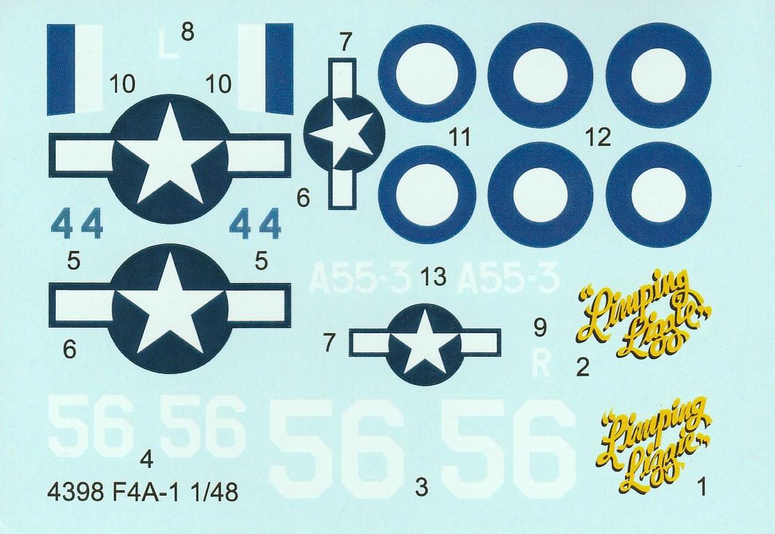 CMK-4398-F-4A-1-Recon-Lightning-Umbausatz-13 CMK F-4A-1 Recon Lightning Umbausatz #4398