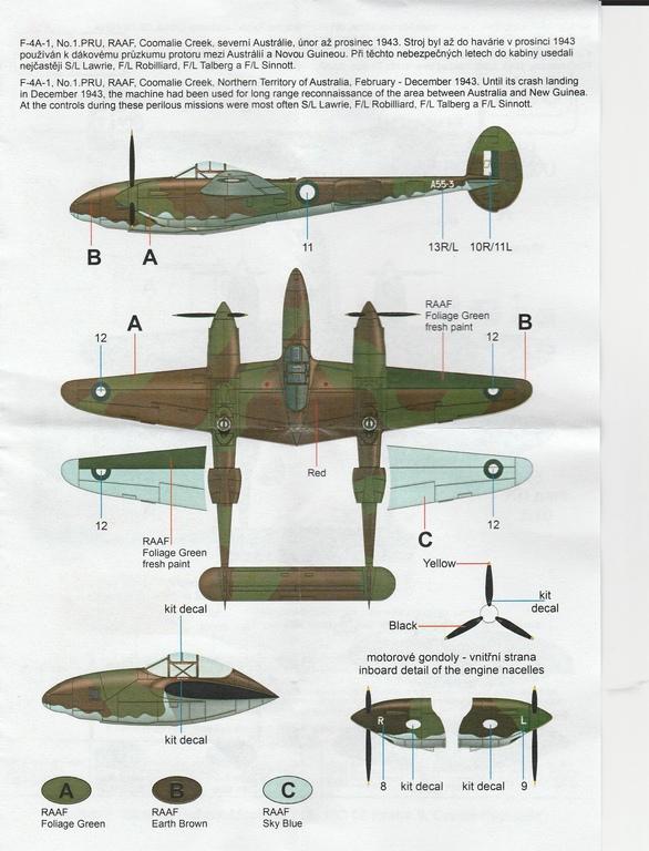 CMK-4398-F-4A-1-Recon-Lightning-Umbausatz-16 CMK F-4A-1 Recon Lightning Umbausatz #4398