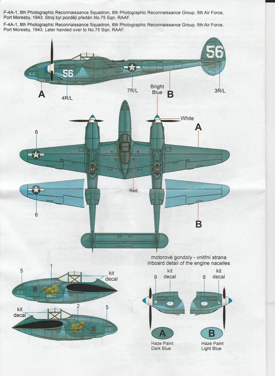 CMK-4398-F-4A-1-Recon-Lightning-Umbausatz-17 CMK F-4A-1 Recon Lightning Umbausatz #4398
