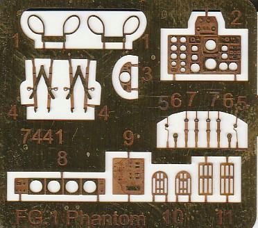 CMK-7441-Phantom-Cockpit-15 Cockpit für die Phantom FG1 (Airfix) in 1:72 von CMK #7441