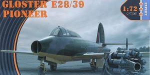 Gloster E38/39 Pioneer in 1:72 von Clear Prop #CP 72001