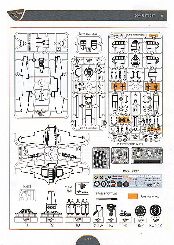 Clear-Prop-CP-72001-Gloster-E-39-Pioneer-Bauanleitung2 Gloster E38/39 Pioneer in 1:72 von Clear Prop #CP 72001