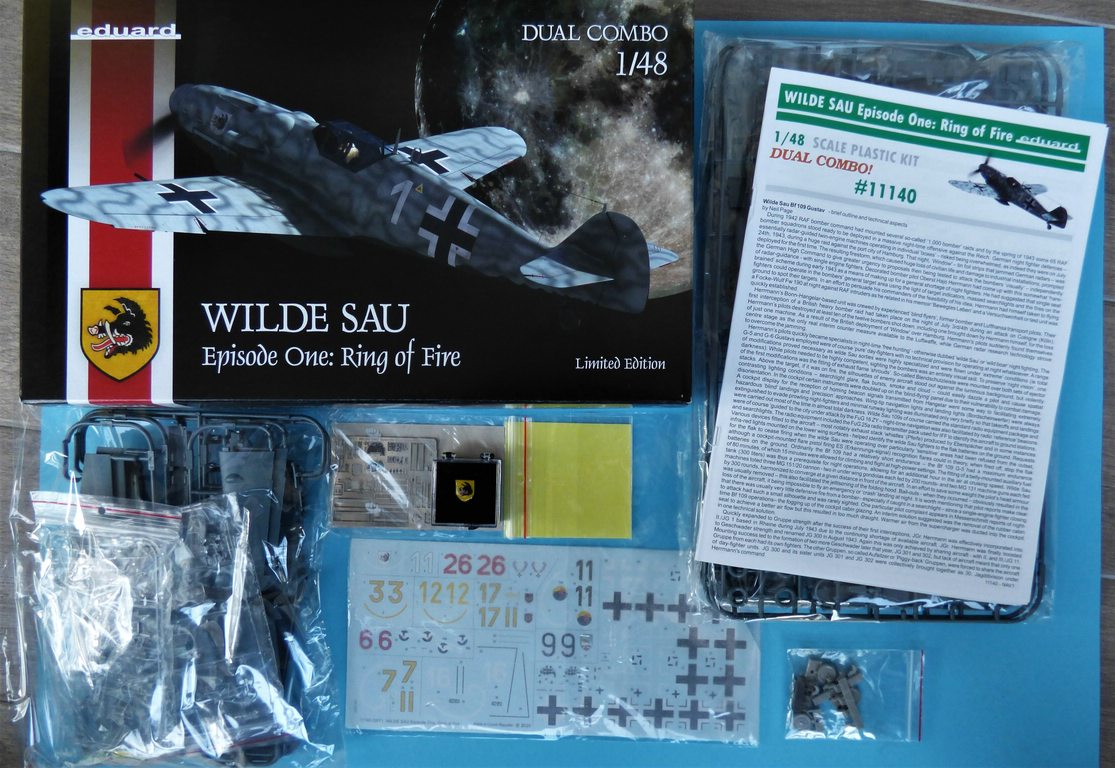"Eduard-11140-Wilde-Sau-TEil-1-4 Eduard Limited Edition ""Wilde Sau Episode One: Ring of Fire"" in 1:48 #11140"