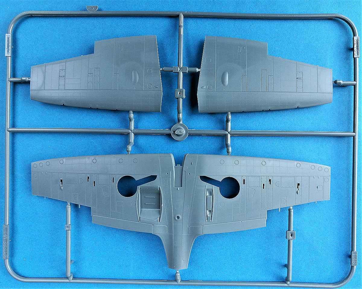 Eduard-11143-Spitfire-Mk.-I-The-Few-54 Spitfire Story: The few in 1:48 von Eduard #11143