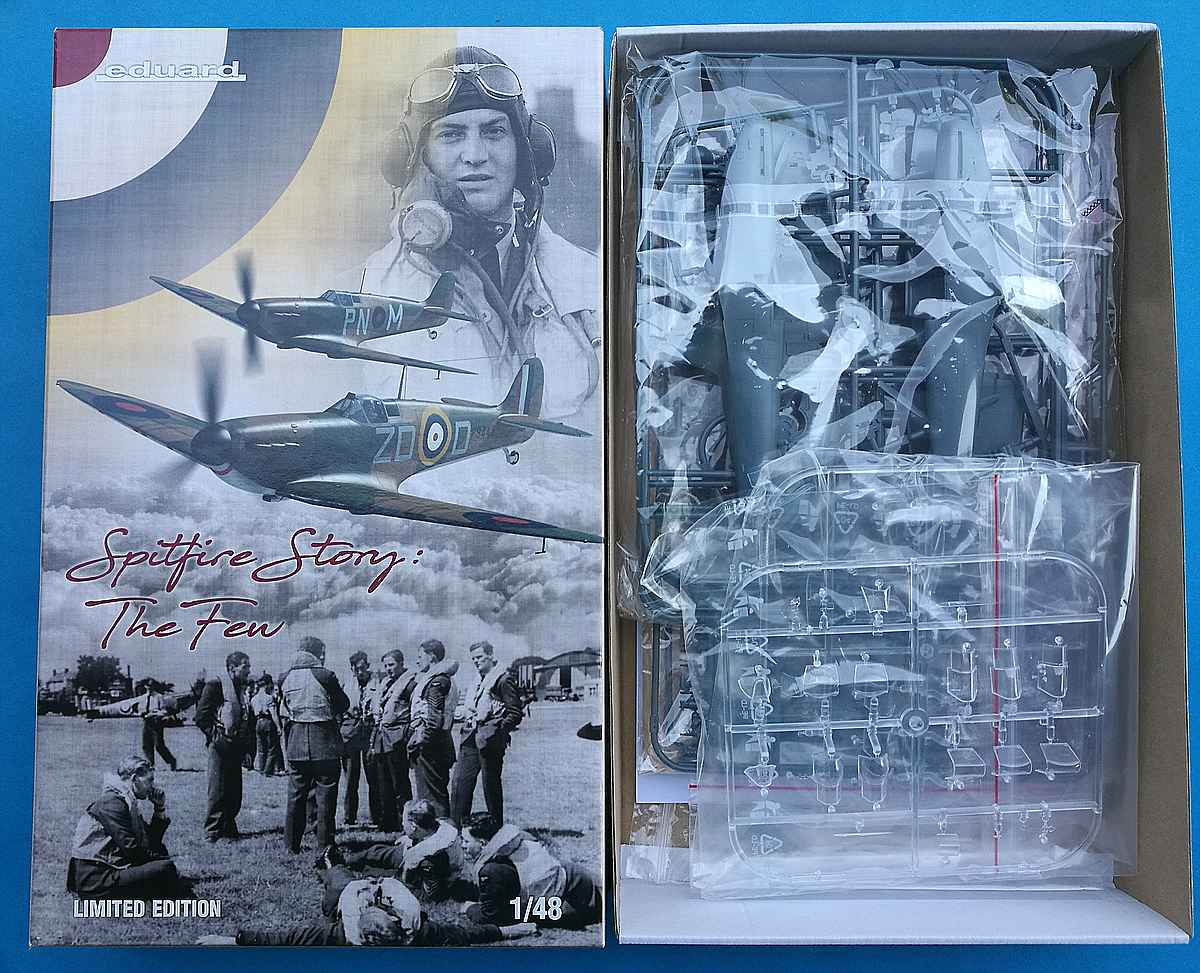 Eduard-11143-Spitfire-Mk.-I-The-Few-6 Spitfire Story: The few in 1:48 von Eduard #11143