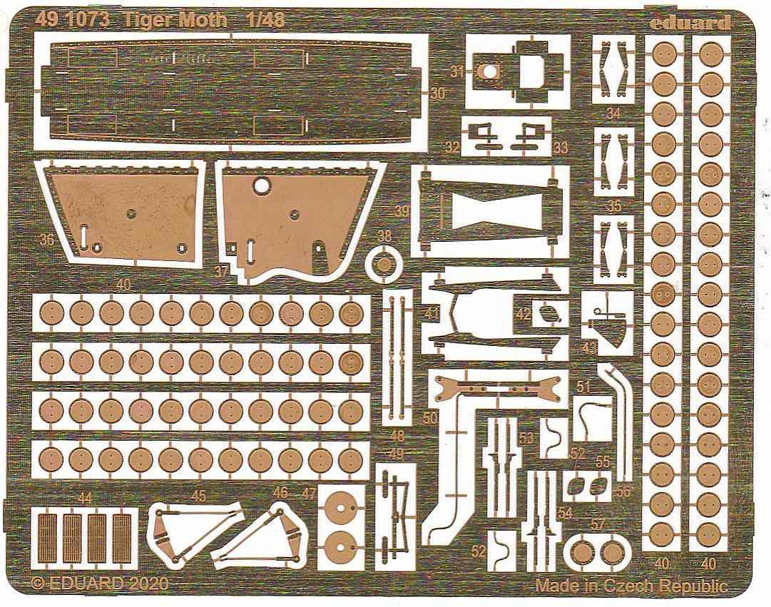 Eduard-491073-Tiger-Moth-8 Eduard Zubehörsets für die Tiger Moth in 1:48 von Airfix