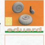 Eduard-648542-und-648543-He-111-Räder-9-150x150 He 111 wheels early / late von Eduard in 1:48 #648542 und 648543