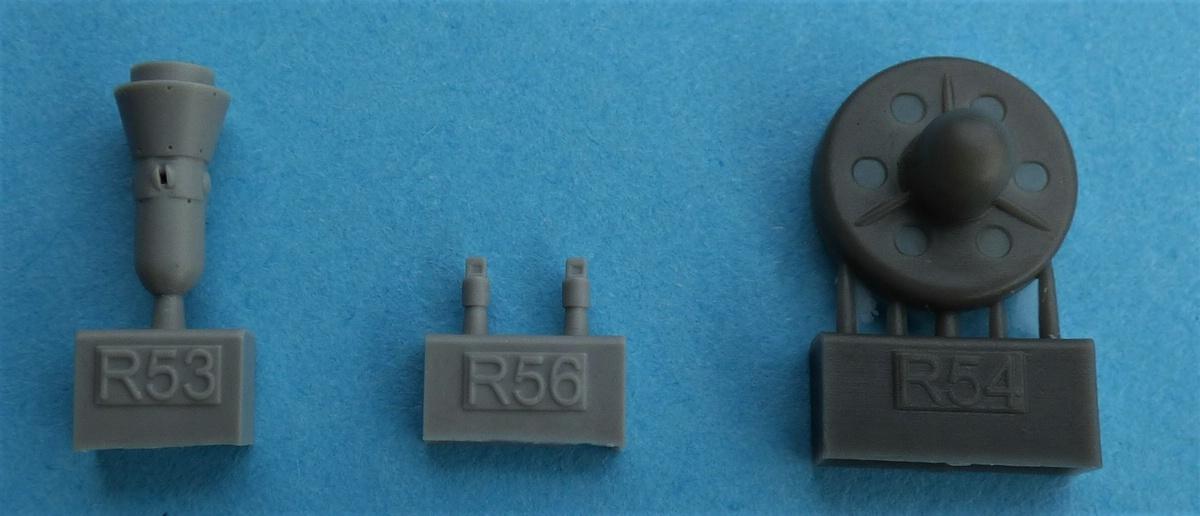 Eduard-648552-und-648554-AN-ALQ-99-8 AN/ALQ-99 Störbehälter von Eduard in 1:48 #648552 und 648554