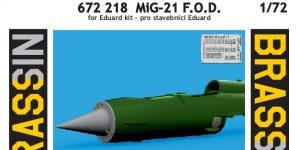 MiG-21 F.O.D in 1:72 von Eduard # 672218