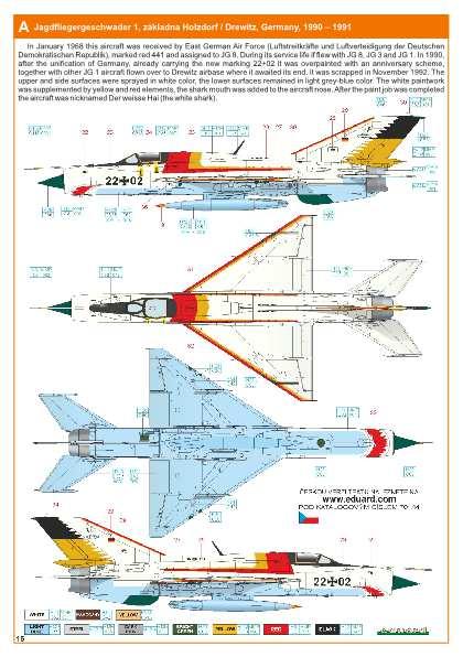 Eduard-70144-MiG-21-PFM-ProfiPack-47 MiG-21PFM in 1:72 von Eduard #70144